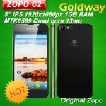 Zopo C2  MTK6589 Quad Core 1G 4G 13.0MP камера